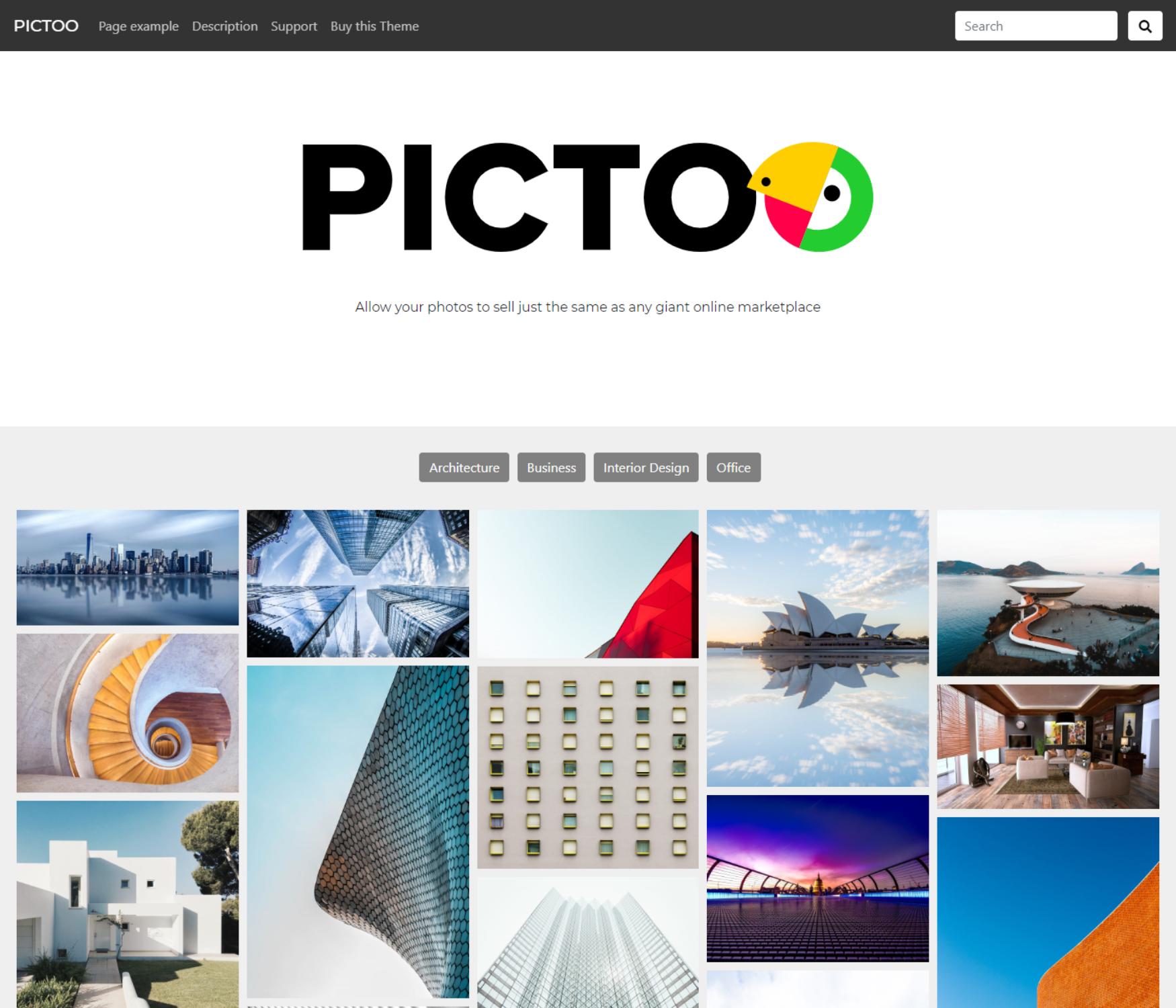 Wordpress Šablona v češtině pro fotografy