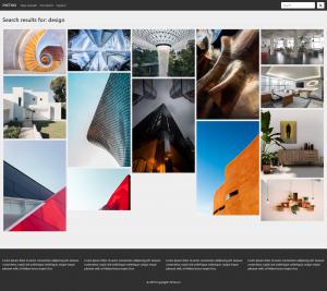 Wordpress Šablona v češtině pro fotografy - Vyhledávání
