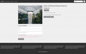 Wordpress Šablona v češtině pro fotografy - Detail