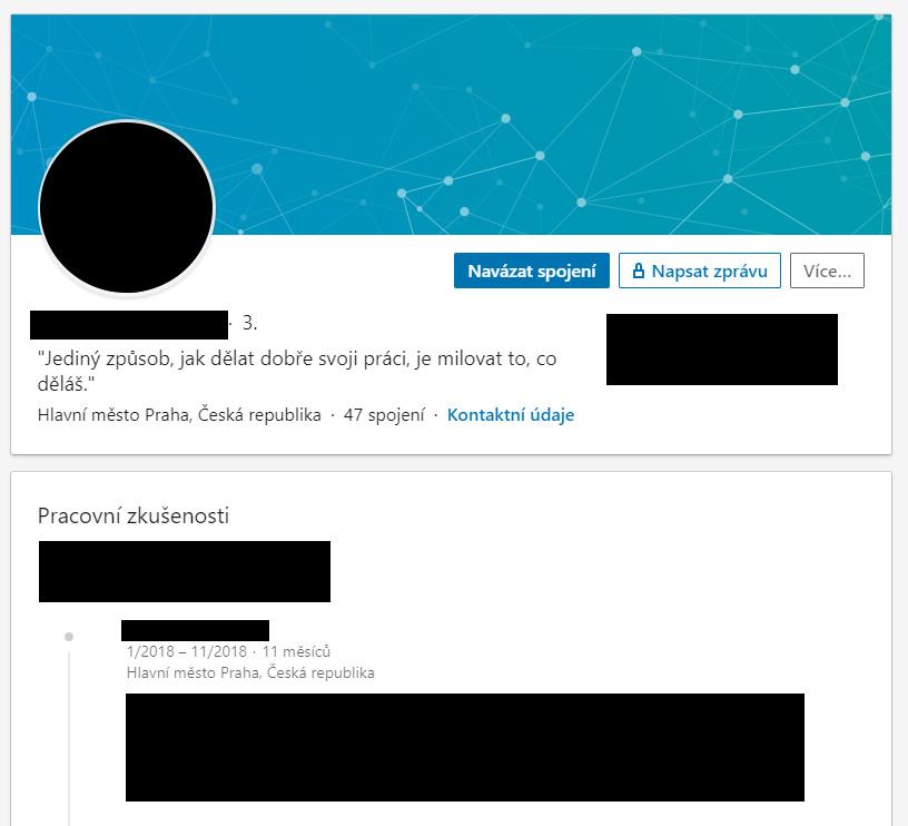 Návod na LinkedIn