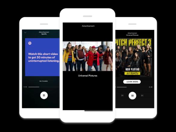 Reklama na Spotify